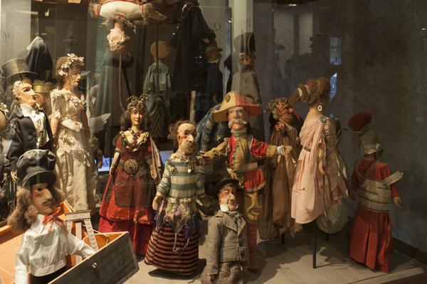 Las marionetas creadas por Maurice Sand en el castillo de Nohant