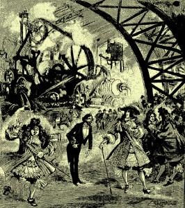 Albert Robida - Jadis chez aujourd'hui (1890)