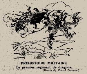 Marcel Prangey - Préhistoire militaire (1931)