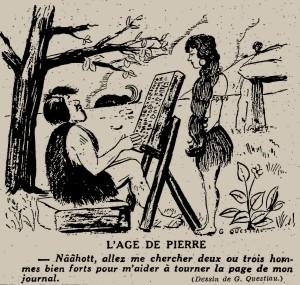 G. Questiau - L'âge de pierre (1931)