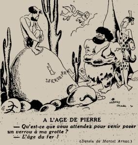 Marcel Arnac - À l'âge de pierre (1931)