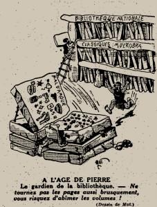 Mat - À l'âge de pierre (1932)