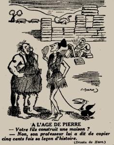 Haro - À l'âge de pierre (1934)