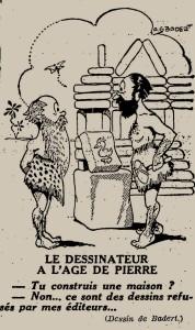 Badert - Le Dessinateur à l'âge de pierre (1935)