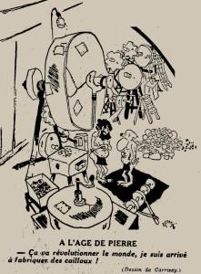 Robert Carrisey - À l'âge de pierre (1935)