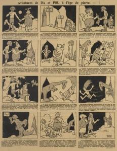 Marcel Arnac - Aventures de DA et POU à l'âge de pierre (1922-1923)