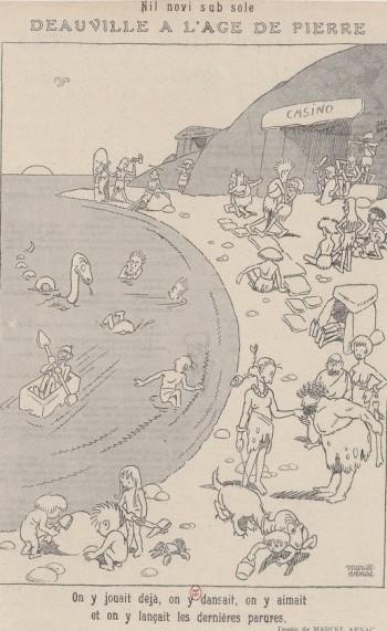 Marcel Arnac - Deauville à l'âge de pierre (192?)