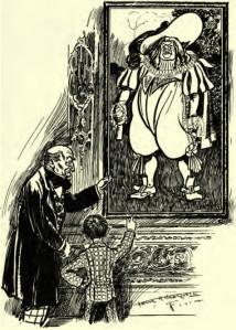 Frank Arthur Nankivell - Monsieur d'En Brochette (1905)
