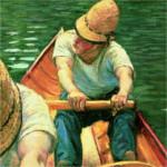 Gustave Caillebotte – Remadores en el río Yerres (1877-1879)