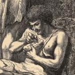 DANVILA Y JALDERO, Augusto – El Primer Escultor español: leyenda prehistórica