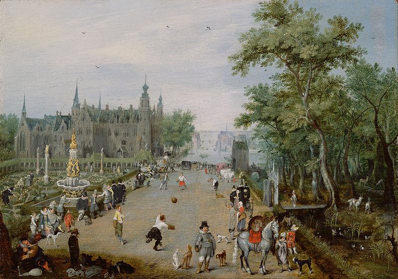 Adriaen_van_de_Venne_(Dutch_-_A_Jeu_de_Paume_Before_a_Country_Palace_-_Google_Art_Project