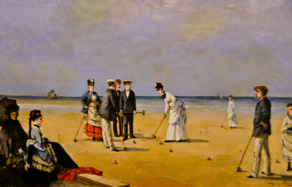 Louise_Abbéma_-_A_Game_of_Croquet