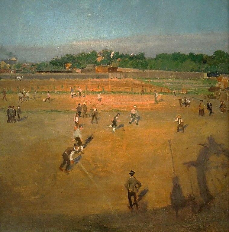 Milos_Jiranek_19._11._1875-2._11._1911_-_Na_hristi_S._K._Slavie_na_Letne_Fotbal_V.