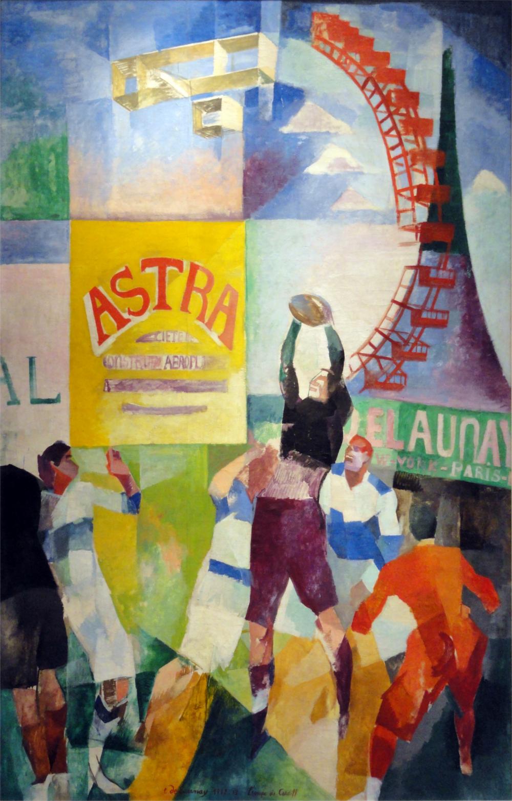 Robert_Delaunay,_1913,_L'Équipe_de_Cardiff,_oil_on_canvas,_326_×_208_cm,_Musée_d'Art_Moderne_de_la_ville_de_Paris