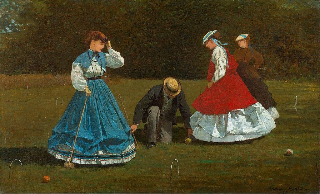 Winslow_Homer_croquet-players