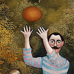 Henri Rousseau – Los Jugadores de fútbol (1908)