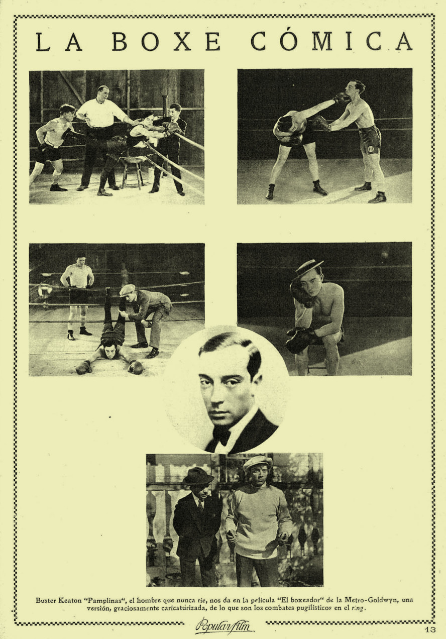 Algunos fotogramas de Battling Butler, publicados en la revista Popular Films (1926)