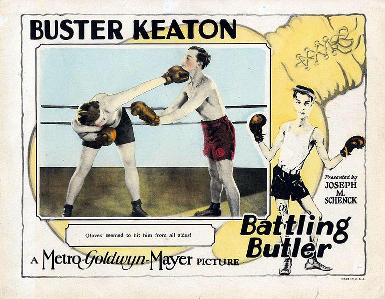 Tarjeta publicitaria de Battling Butler (1926)