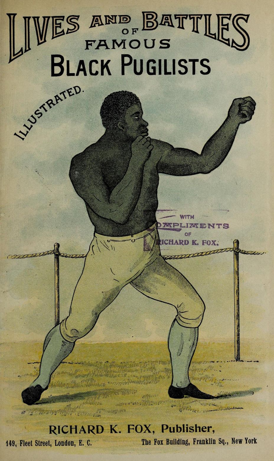 The black champions of the prize ring from Molineaux to Jackson (1897)