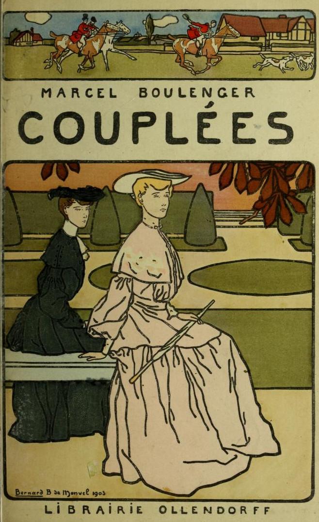 Marcel Boulenger – Couplées, ilustración de B. Boutet de Monvel (1901)