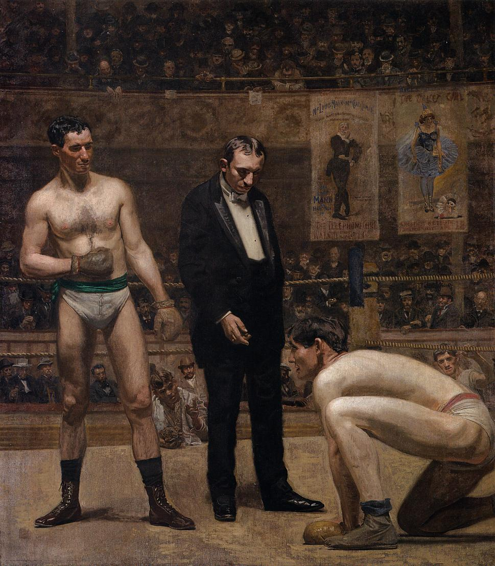 eakins-taking-the-count-1898