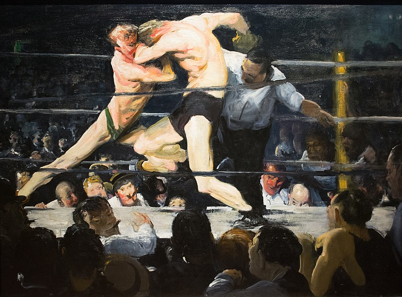 George Bellows - Stag at Sharkey's (1909)
