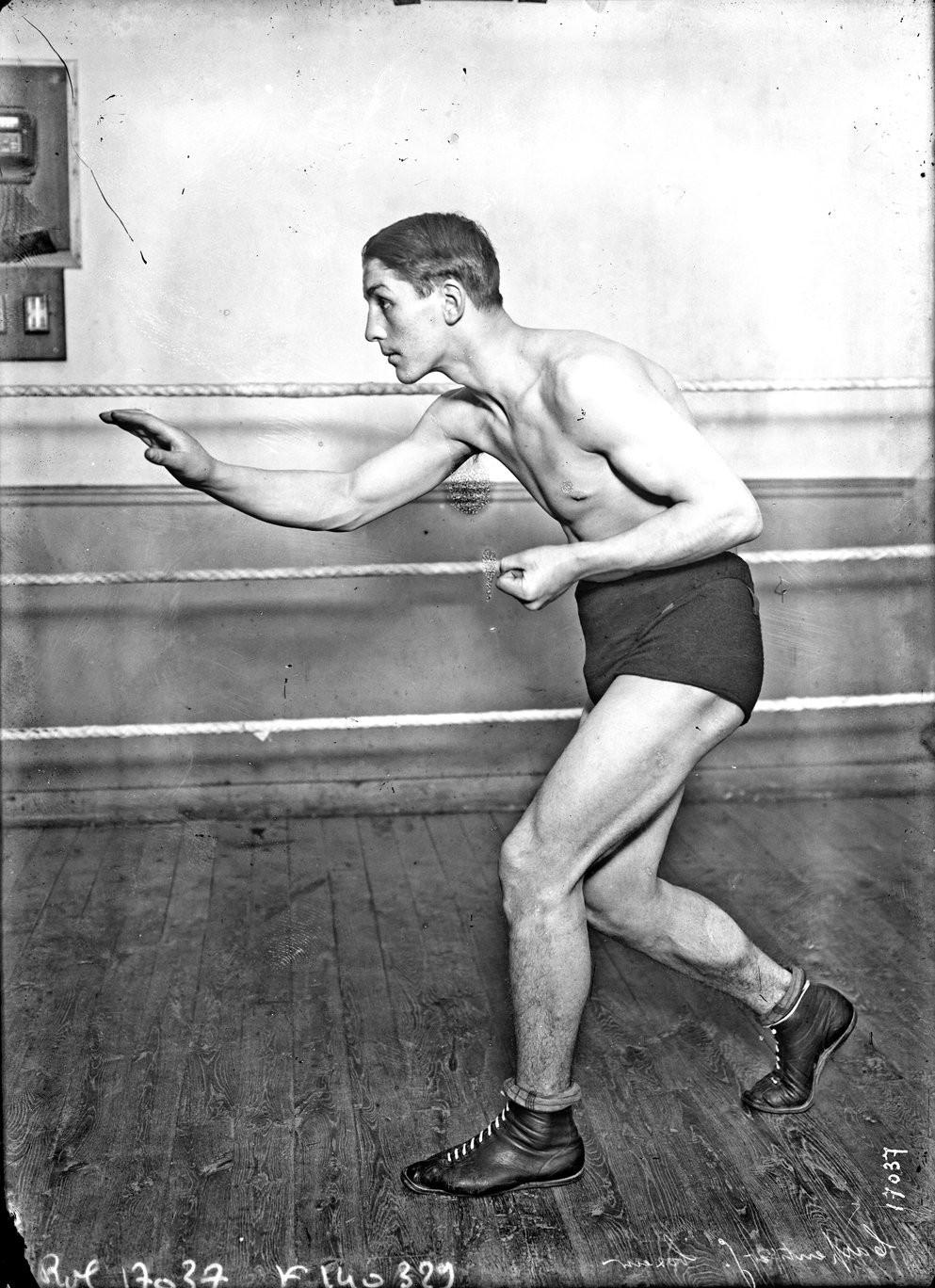 Georges Carpentier en 1911