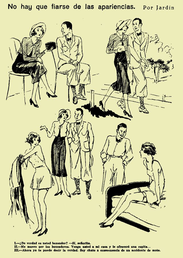 Jardín – No hay que fiarse de las apariencias (1931)