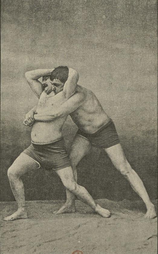 Léon Ville – La Lutte et les Lutteurs : traité pratique, fotografía de Nadar (1891)