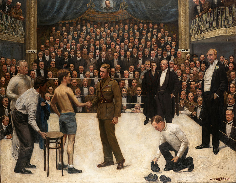 William_Howard_Robinson_A_Welsh_Victory_at_the_National_Sporting_Club_1919