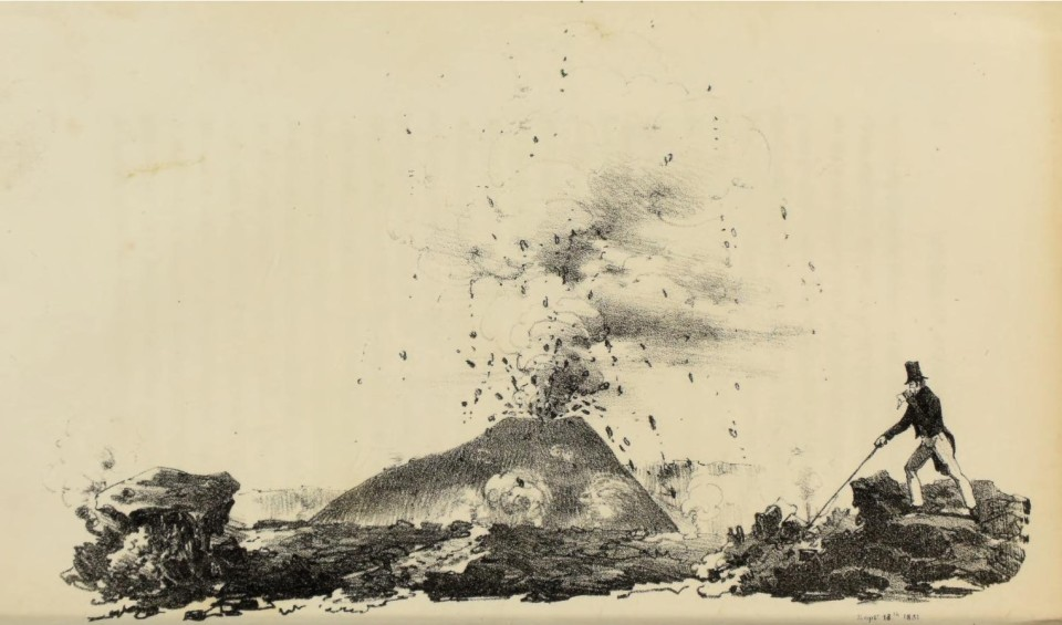 John Auldjo - Sketches of Vesuvius, with short accounts of its principal eruptions, from the commencement of the Christian era to the present time (1832)